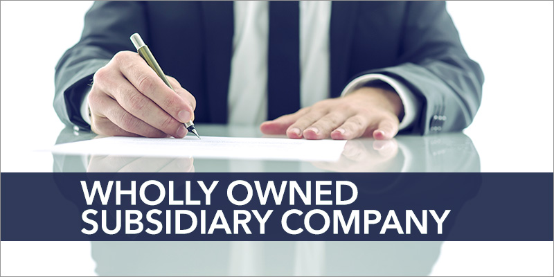 setting up a wholly owned subsidiary company in India